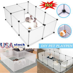Portable Pet Dog Puppy Playpen Animal Fence Kennel Crate In Outdoor Pet Exercise $20.19