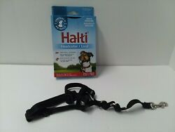 HALTI Dog Headcollar MUZZLE Size 1 BLACK  Stops Pulling Kind Control for Dog  $11.00