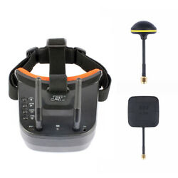 JMT Mini FPV Goggles With Mushroom Antenna Panel Antenna for Racing Drone $46.79