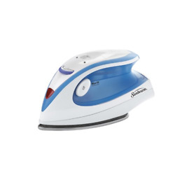 Travel Iron Steam Electric Sunbeam Portable Compact Mini Iron Dual Voltage New $19.33