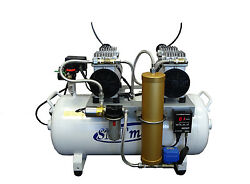 2HP Oil Free Dental Air Compressor w automatic dryer 220v