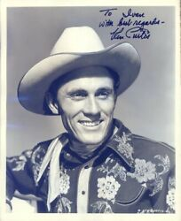 KEN CURTIS - INSCRIBED PHOTOGRAPH SIGNED