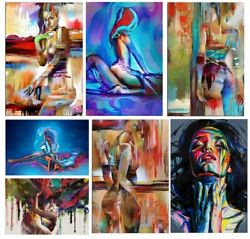 Abstract Canvas Painting Canvas Wall Art Home Decor Posters amp; Print Wall Picture $12.21