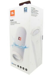 JBL Flip 4 Wireless Waterproof Portable Stereo Bluetooth Speaker White In Retail $74.95