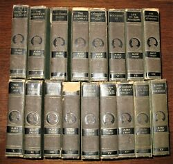 The Complete Works of Mark Twain 17 Vols.  Authorized Edition - Harper