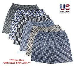 Lot 3-Pack Mens Cotton Boxer Briefs Underwear Shorts Trunks Thin Breathable  $8.55