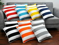 Decorative Cabana  Pillow Cover Cushion Cover Pillow Cases 18 x 18 Set of 2  $10.99