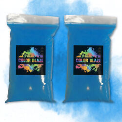 Color Blaze Gender Reveal Powder 2 lbs Blue two 1 pound bags Baby Boy Party $19.50