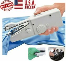 Portable Mini Smart Electric Tailor Stitch Hand-held Sewing Machine Travel Home $10.25