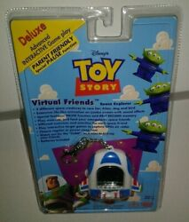Toy Story Buzz Alien Virtual Pet Friend Tamagochi 90's THINKWAY TOYS SEALED $84.99
