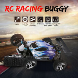 WLtoys Upgraded A959 B 2.4G 1 18 Scale 70KM H 540 Brushed Motor RC Car $59.99