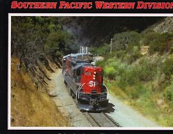 Southern Pacific Western Division Railroad Book $68.95