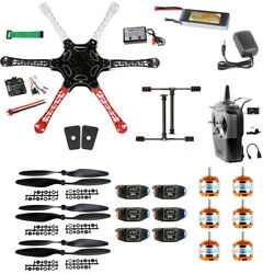 XT XINTE F550 Airframe RC Hexacopter Drone Kit DIY PNF with Kkmulticopter FC $197.79