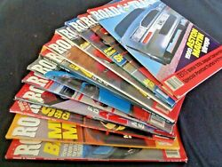 Lot 12 Road and Track Magazines 1989 Automobiles Full Year Miata Exotics Nissan  $19.99