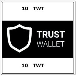 200 Trust Wallet Token (TWT) CRYPTO MINING-CONTRACT - 200 TWT $6.29