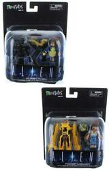 Aliens Deluxe Minimates Set of 2 Queen Alien & Power Loader $26.99