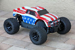 Custom Body USA Flag Style for ARRMA GRANITE 4X4 2WD 3S BLX 1/10 Cover Shell $22.99