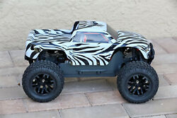 Custom Body Zebra Style for ARRMA GRANITE 4X4 2WD 3S BLX 1/10 Cover Shell $22.99