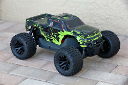 Custom Body Green Muddy Splash for ARRMA GRANITE 4X4 2WD 3S BLX 1/10 Cover Shell $22.99