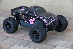 Custom Body Pink Muddy Splash for ARRMA GRANITE 4X4 2WD 3S BLX 1/10 Cover Shell $22.99