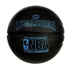 Spalding NBA Street Phantom 29.5quot; Official Basketball Black And Blue $32.99