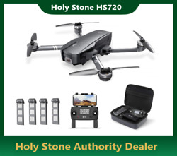 Holy Stone HS720 Foldable RC Drone with 2K HD Camera 5G Brushless Quadcopter GPS $209.99