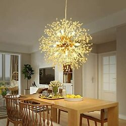 Dandelion Sputnik Chandelier Fireworks Ceiling Pendant LED Lamp Fixtures 8 Light $80.04
