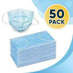 Protective Face Mask (50PC) Ships from USA $14.95