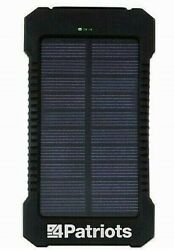 Genuine 4Patriots Patriot Power Cell Solar Phone Charger USB Power Bank * New $43.88