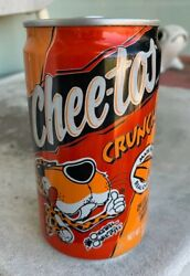 CHEETOS Rare 1990s Aluminum Soda Can Vending Test Packaging Unopened $45.99
