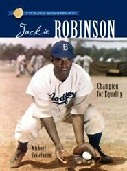 Sterling Biographies®: Jackie Robinson: Champion for Equality $3.73