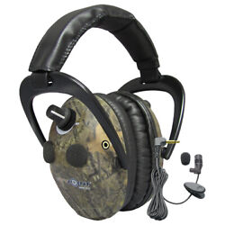 Spypoint Eem4-25 Electronic Ear Muffs Microphones Safety Adjustable Padded Camo $421.95