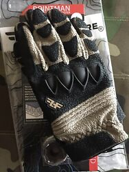 """Line of Fire Striker Short Coyote Gloves Large. With 36"""" Tegs Tape. C $98.00"""