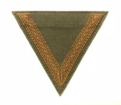 GERMAN WWII REPRODUCTION HEER TROPICAL GEFREITER CHEVRON MADE IN THE USA $14.99