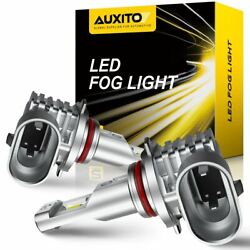 AUXITO H10 9140 9145 6500K LED Fog Driving Light Bulbs SMD Bright Fit for Ford F $18.99