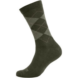 Pentagon Phineas Socks Mens Anatomical Organic Cotton Quick Drying Casual Olive $15.95