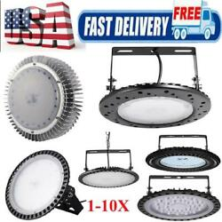 300W -10W Commercial Lighting UFO LED High Bay Light Factory Workshop Outdoor $565.16