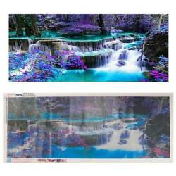 DIY 5D Diamond Landscape Painting Large Wall Paintings Craft Home Decor Art Gift $24.98