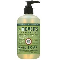 Mrs Meyers Hand Soap Clean Day Iowa Pine Scent 12.5 Oz Pack of 6 $36.99
