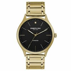 Kenneth Cole New York Men's Three Hand Classic Watch with a Diamond Dial $59.99