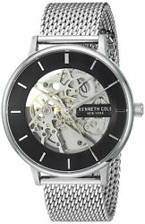 Kenneth Cole New York Stainless Steel Automatic Watch KC50780005 $69.99