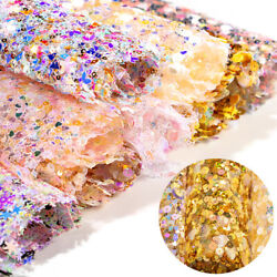 Glitter Sequin Nail Art Mat Salon Practice Cushion Washable Hand Holder Pad Tool $7.25