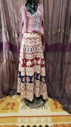 India Elephant Hippie Wrap Skirt $9.99
