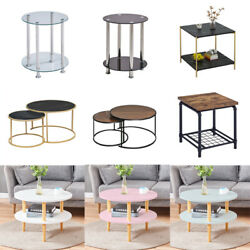 Coffee Table Sofa Bed Side Accent End Tables Simple Living Room Bedroom Desk New $29.99