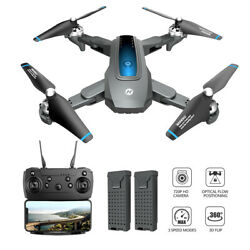Holy Stone HS240 RC Drone 720P HD Camera Foldable Hover 3D Flip Quad 2 Batteries $59.99