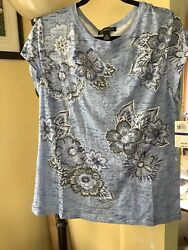 INC INTERNATIONAL CONCEPTS T-shirt Top Nwt. Size XL