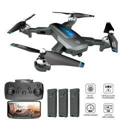 Holy Stone HS240 Selfie RC Drones with 4K HD Camera Foldable Altitude Quadcopter $119.99