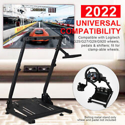 New Upgraded Foldable G29 Racing Steering Wheel Stand Plus Gearshift Mount yw $61.01