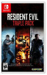 Resident Evil Triple Pack Nintendo Switch 2019 BRAND NEW $37.88