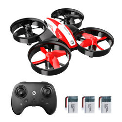 Holy Stone HS210 Mini Drone RC quadcopter for kids Helicopter 3 batteries A+ toy $25.99